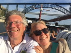 All smiles aboard a river cruise