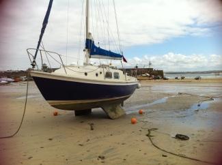 Lazy Bones - 1st boat